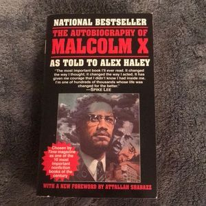 The Autobiography of Malcom X book